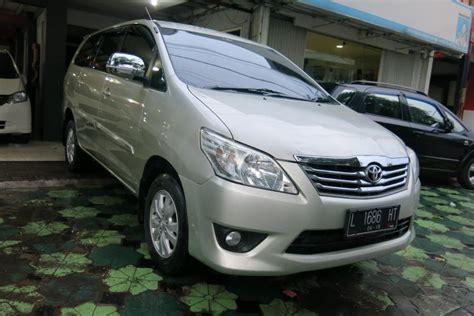 Toyota Kijang Innova G toyota kijang innova g bensin mt 2013 mobilbekas