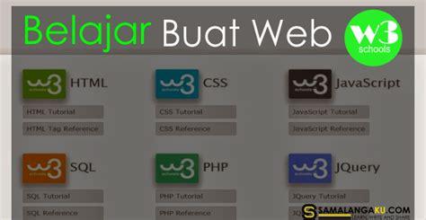 belajar membuat website dengan html download w3schools offline untuk belajar membuat web