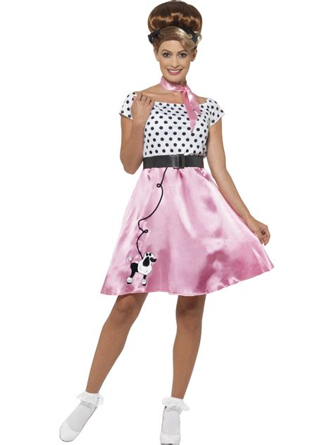 50 theme costumes hairdos adult 50s rock n roll costume 45515 fancy dress ball