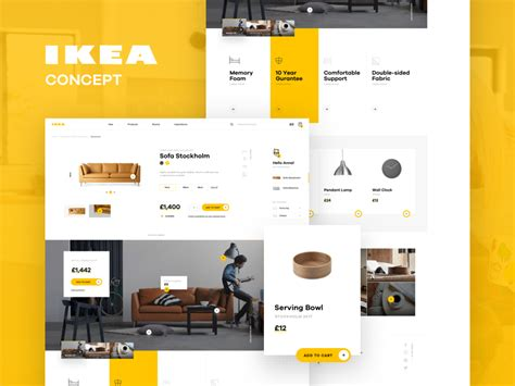 Ikea Redesign by Ikea Online Experience Redesigned Concept By Michal