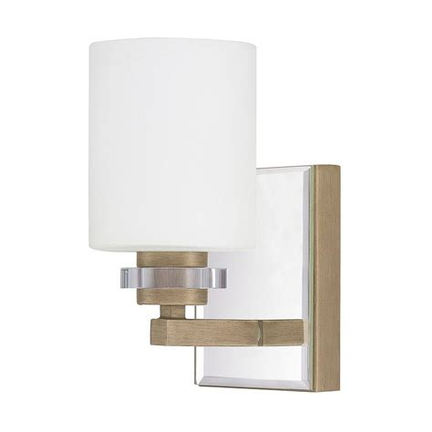 Brushed Gold Wall Sconces Allen Co 1 Light Brushed Gold Sconce 9a166a
