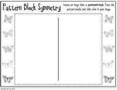 symmetry pattern blocks worksheet 1000 images about manipulatives pattern blocks unifix