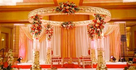 Orange Home Decorations by Welcome To Deepti S Floral Designs Amp Mandaps
