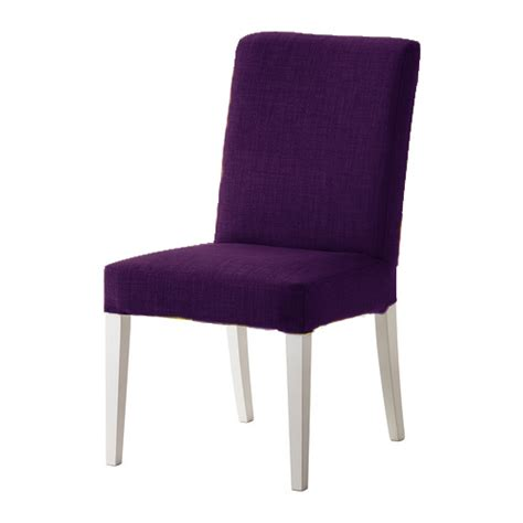 Purple Dining Chairs Ikea Purple Skiftebo Custom Replacement Slip Cover For Ikea Henriksdal Dining Chairs Ebay