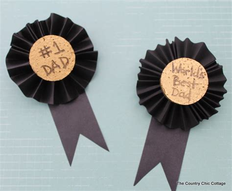 Trash To Treasure Ideas Home Decor Kids Craft For Father S Day Medals For Dad The Country