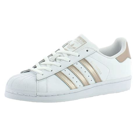 wmns 2017 ba8169 adidas shoes superstar w white gold white stree ebay