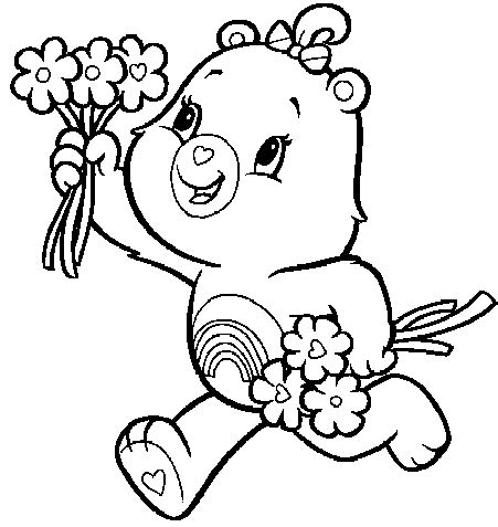 share your care day printable care bears coloring pages animals coloring pages for kids and you all free printable