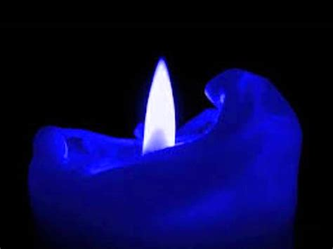 Blue Candles Noon Blue Candle