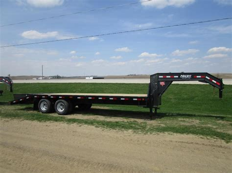 flat bed trailers for sale 2017 pj 30 gn flatdeck trailer haley trailers pj