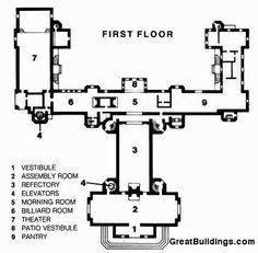 hearst castle floor plan 1000 images about hearst castle on pinterest marion
