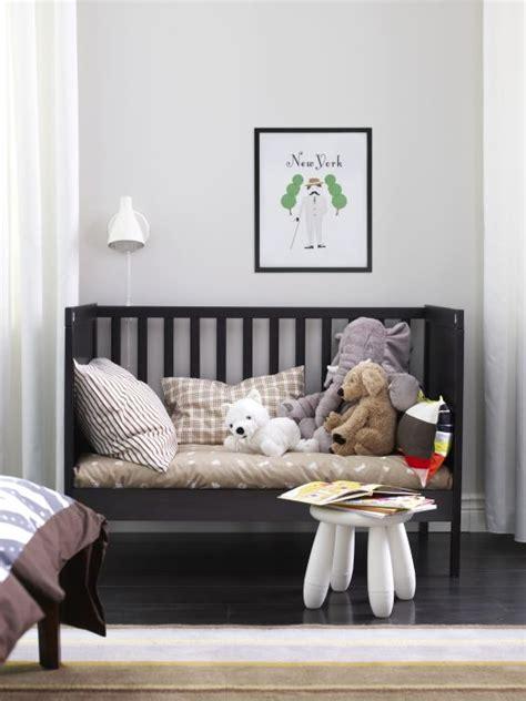 sundvik crib black brown big kids furniture