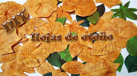 imagenes de otoño en suecia hojas de oto 241 o hechas de foamy goma eva diy autumn