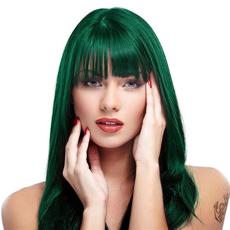 Manic Panic Lified Nyc Hair Colouring Enchanted Forest manic panic high voltage classic formula enchanted forest colour hair dye 118ml hair dye uk