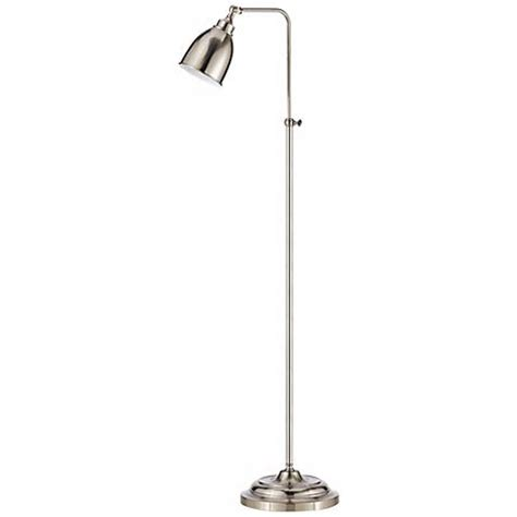 pharmacy floor l with adjustable pole brushed steel adjustable pole pharmacy floor l