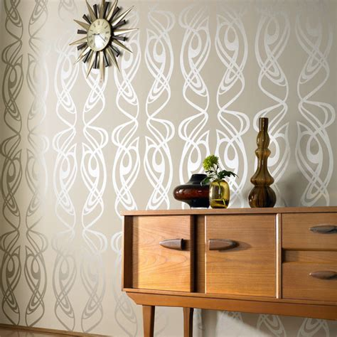 wallpaper design houzz graham brown diva wallpaper modern wallpaper