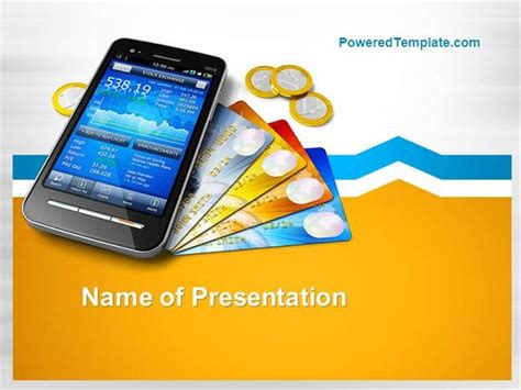 Mobile Banking Powerpoint Template Authorstream Mobile App Ppt Templates Free