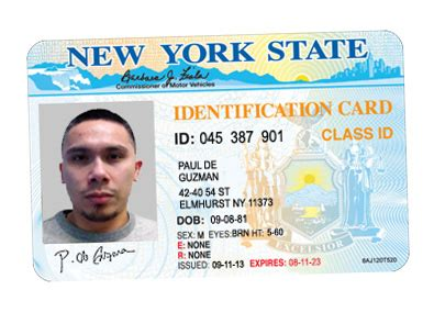new york id card template our driver s license and id cards replacedocument