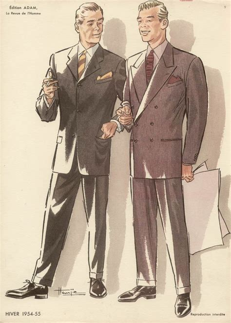 1950s fashion men and women french 1950s fashion designs for men
