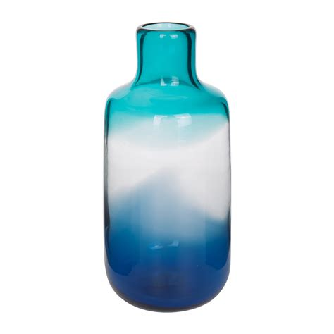 Buy Glass Vases Buy Pols Potten Pill Glass Vase Blue Small Amara