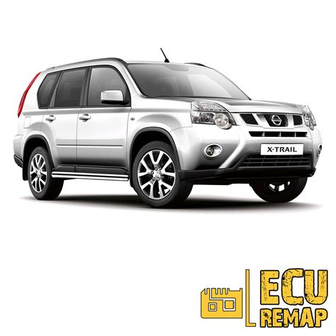Nissan Xtrail T31 nissan x trail t31 2 0 dci ecu and exhaust 4wd