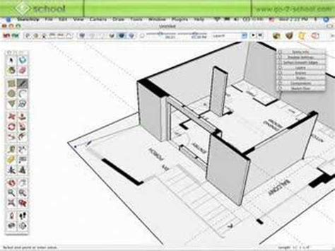 how to make a floor plan in sketchup model a house in sketchup pt 2 sketchup show 28