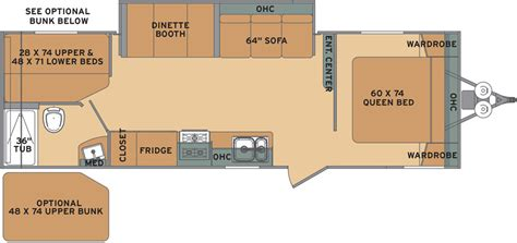 shasta rv floor plans shasta flyte travel trailers floor plans by forest river