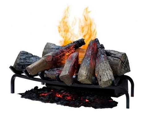 electric fireplace log insert the 5 most realistic electric fireplaces
