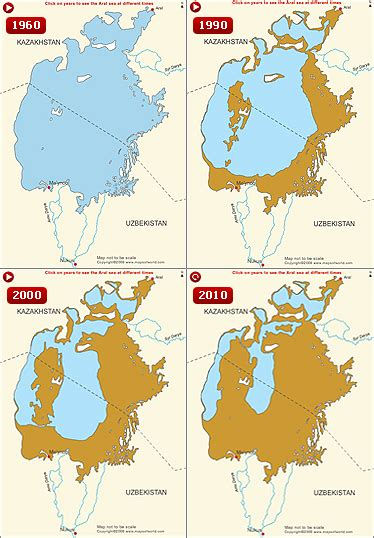 russia map aral sea human civilization repays earth with a dried up
