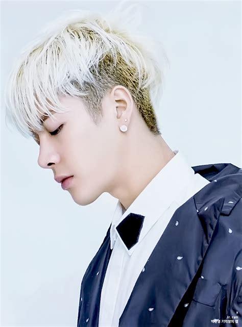 kpop male hair cuts got7 jackson s blonde hair kpop korean hair and style