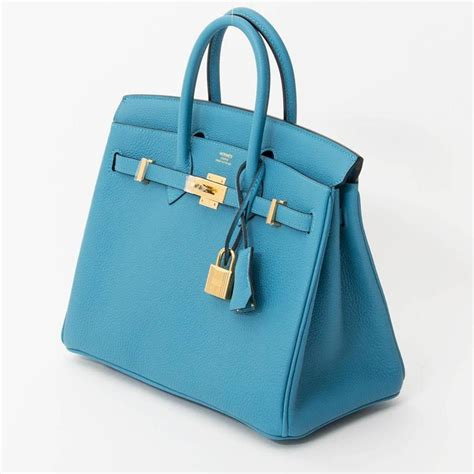 brand new herm 232 s birkin 25 turquoise ghw for sale at 1stdibs