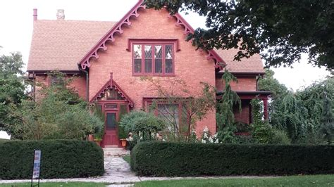 gothic revival architecture in wisconsin historical mansions and houses of kenosha wisconsin