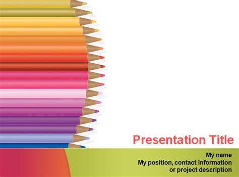 powerpoint design kindergarten 20 sle education powerpoint templates free premium