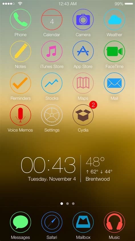 how to set themes for iphone 6 new iphone 6 ios 8 1 theme anyone interested iosthemes