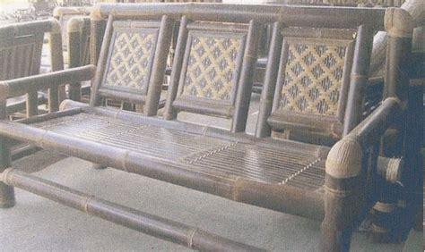 Kursi Panjang Dari Bambu jasa pembuatan rumah bambu bandung saung rumah bambu panel aksesoris dari bambu lion