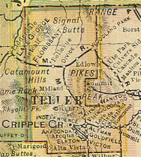 Teller County Property Records Teller County Colorado Genealogy Census Vital Records