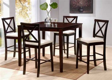 counter high dining set home and interior design - High Dining Table Set