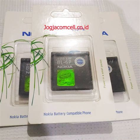 Baterai Log On Nokia Bl 5ca baterai nokia bl 6p bt harga murah