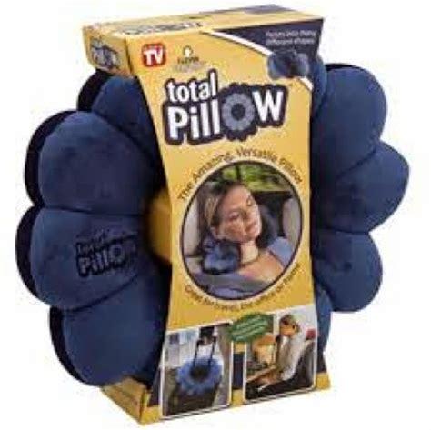 Comfort Total Twist Bantal Leher Travel smart generation promosi total pillow as seen on tv bantal rehat serbaguna