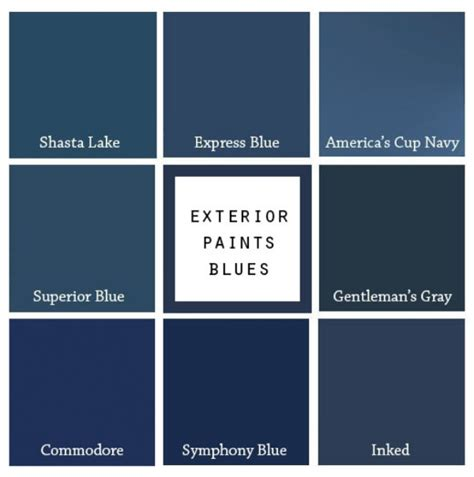 8 paint colors for a blue front door blue door living