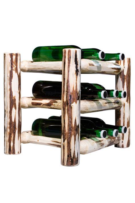 montana countertop wine rack unfinished