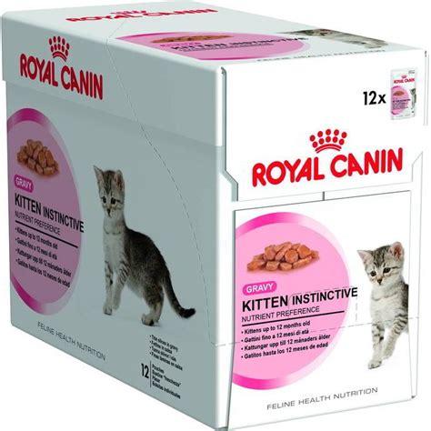 Produk Brand Royal Canin Kitten Instinctive 85gr Royal Canin Kitten Instinctive 12 Pack Kitten Pouch