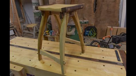 woodworking shop stool   school joinery youtube