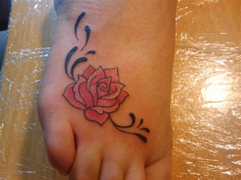 rose tattoo on foot tattoos designs ideas and meaning tattoos for you