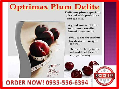 Bp Optrimax Plum Delite optrimax plum delite makes you healthy and about plum