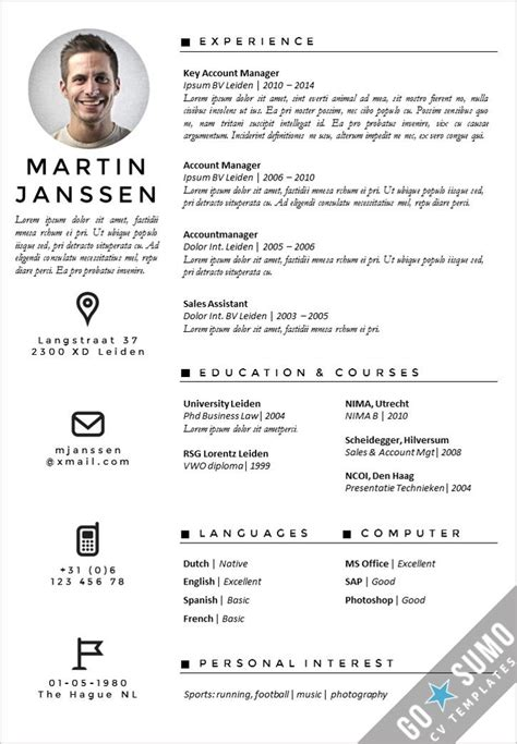 Cv Template Antwerp Career Stuff Cv Template Resume Templates Creative Resume Templates Cv Template