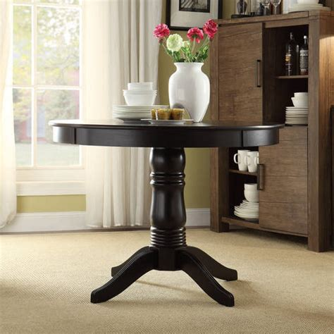 Dining Table Dining Table Black Round
