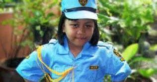 Baju Renang Anak Perempuan Cewe Sd gerai anak angkatan udara