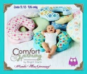 Bright Starts Nursing Pillow by Mombo Nursing Pillow Giveaway 40 Value