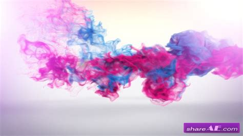 smoke template after effects download trailing particles logo reveal after effects project
