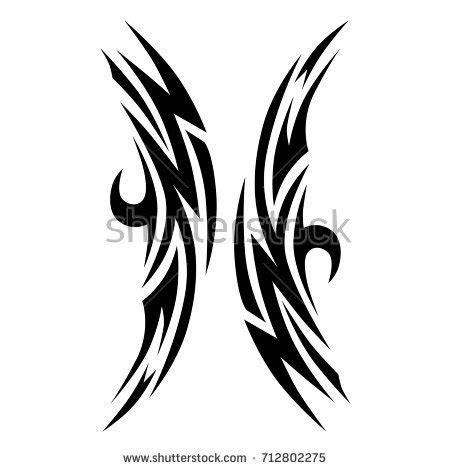 chest tattoo vector tattoo chest stock images royalty free images vectors